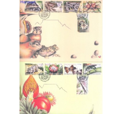 Znaczek Republika Południowej Afryki 2004 Mi 1595-1604 FDC