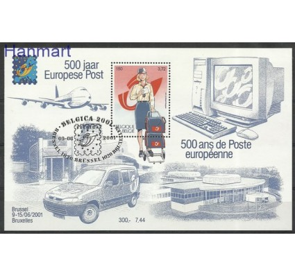 Znaczek Belgia 2001 Mi bl 81 Stemplowane