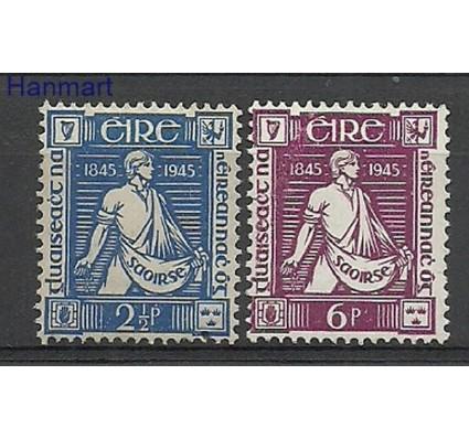 Znaczek Irlandia 1945 Mi 96-97 Z podlepką *