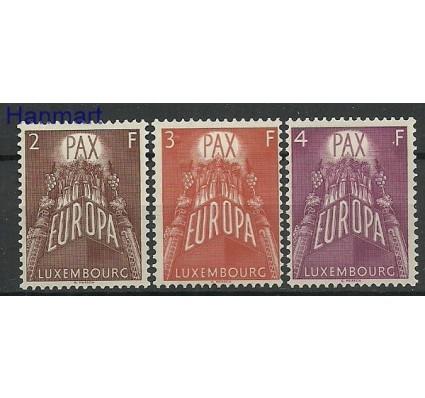 Znaczek Luksemburg 1957 Mi 572-574 Z podlepką *