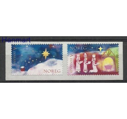 Znaczek Norwegia 2007 Mi 1633-1634 Czyste **