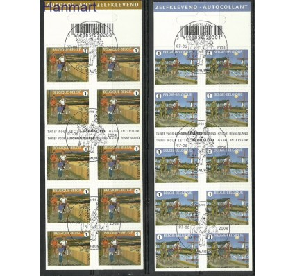 Znaczek Belgia 2008 Mi 3839-3840 Stemplowane