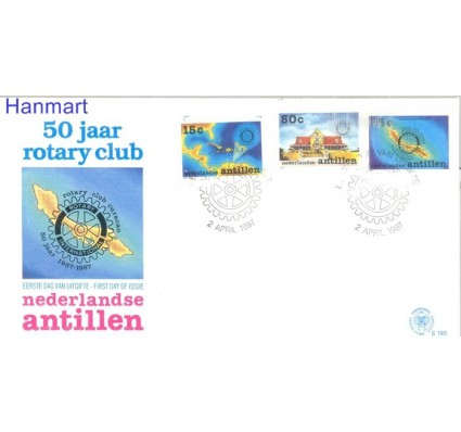 Znaczek Antyle Holenderskie 1987 FDC