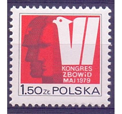 Znaczek Polska 1979 Mi 2626 Fi 2480 Czyste **