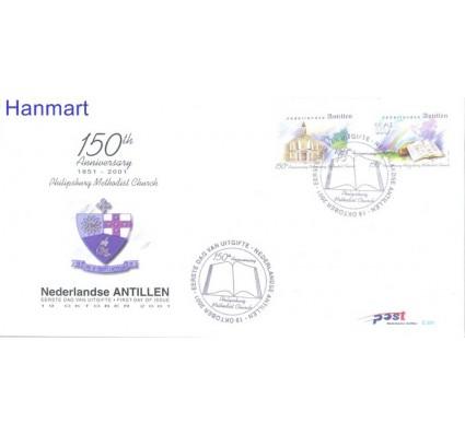 Znaczek Antyle Holenderskie 2001 Mi 1121-1122 FDC