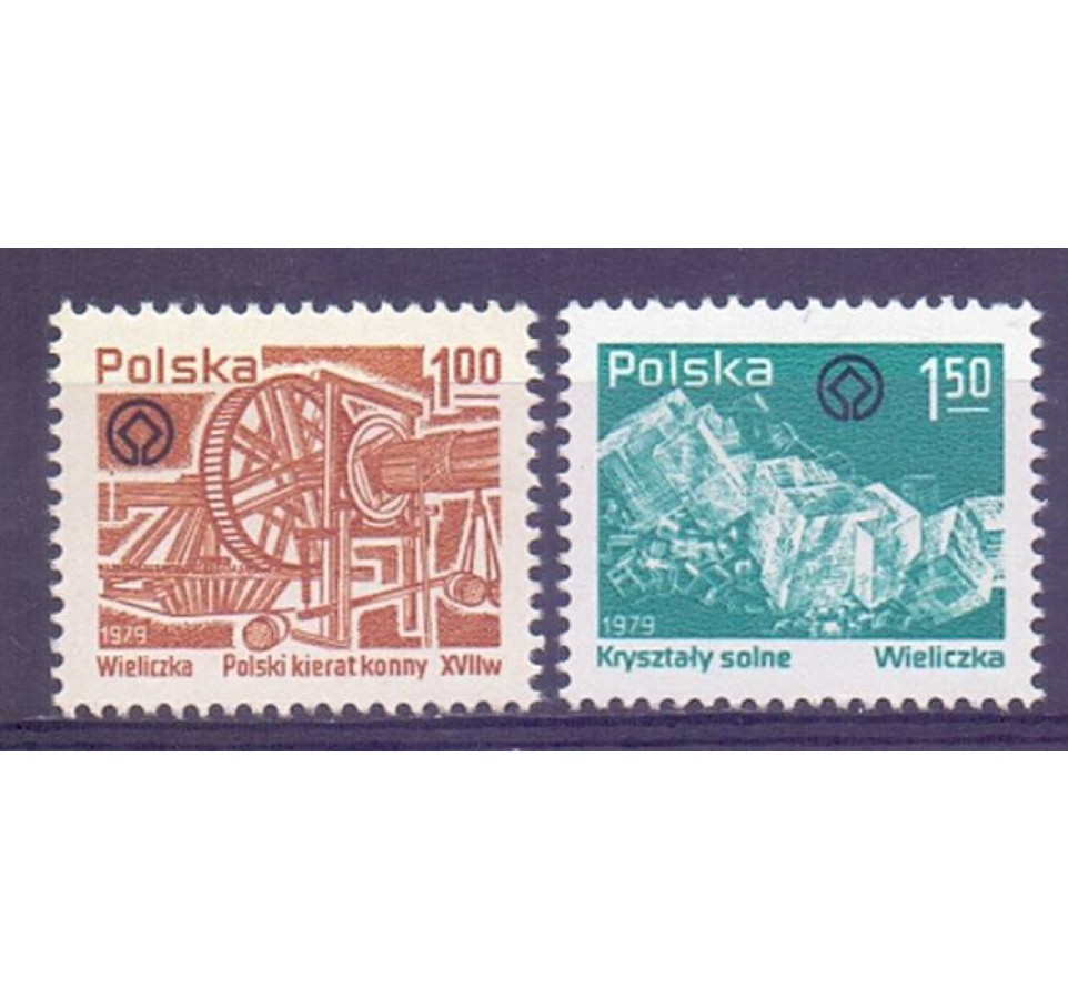 Polska 1979 Mi 2638-2639 Fi 2490-2491 Czyste **