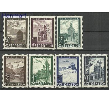 Znaczek Austria 1947 Mi 822-828 Z podlepką *