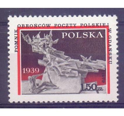 Znaczek Polska 1979 Mi 2645 Fi 2497 Czyste **