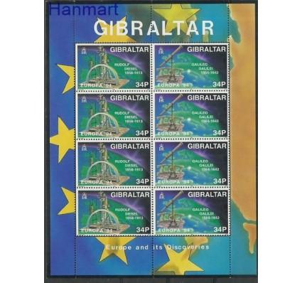 Znaczek Gibraltar 1994 Mi ark 685-686 Czyste **