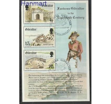 Znaczek Gibraltar 1983 Mi bl 8 Stemplowane