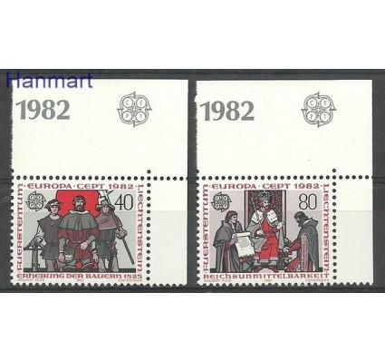 Znaczek Liechtenstein 1982 Mi 791-792 Czyste **