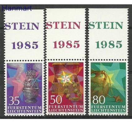 Znaczek Liechtenstein 1985 Mi 884-886 Czyste **
