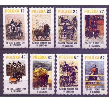 Znaczek Polska 1980 Mi 2664-2671 Fi 2516-2523 Czyste **