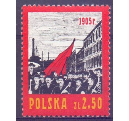 Znaczek Polska 1980 Mi 2683 Fi 2535 Czyste **