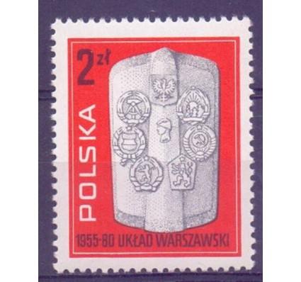 Znaczek Polska 1980 Mi 2685 Fi 2537 Czyste **