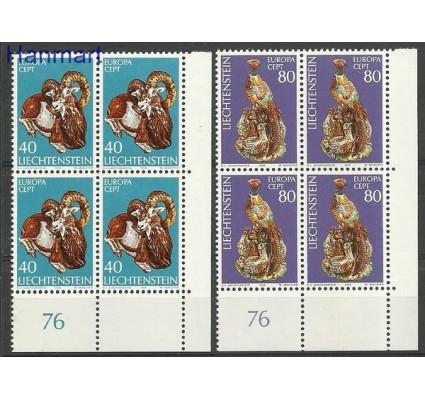 Znaczek Liechtenstein 1976 Mi 642-643 Czyste **
