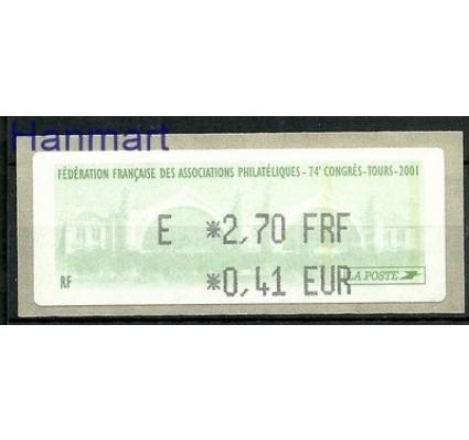 Znaczek Francja 2001 Mi aut 21 Czyste **
