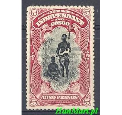 Znaczek Kongo Belgijskie 1894 Mi 19 Z podlepką *