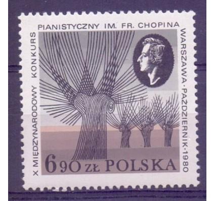 Znaczek Polska 1980 Mi 2714 Fi 2566 Czyste **