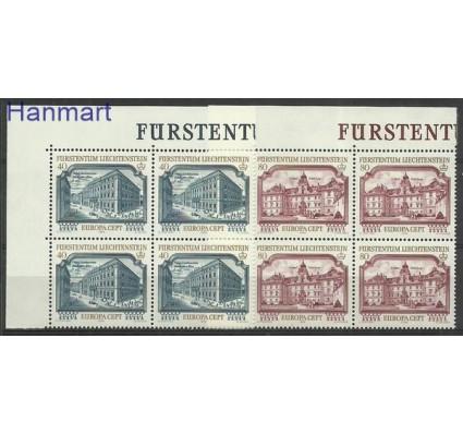 Znaczek Liechtenstein 1978 Mi 692-693 Czyste **