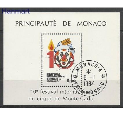 Znaczek Monako 1984 Mi bl 27 Stemplowane