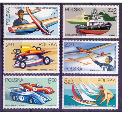 Znaczek Polska 1981 Mi 2757-2762 Fi 2614-2619 Czyste **
