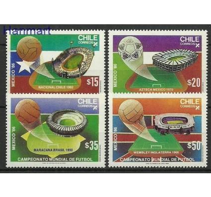 Znaczek Chile 1986 Mi 1118-1121 Czyste **
