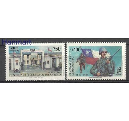 Znaczek Chile 1987 Mi 1187-1188 Czyste **
