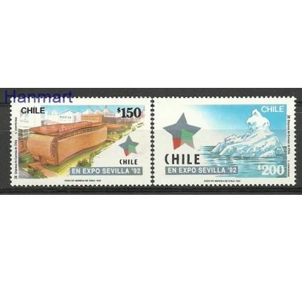 Znaczek Chile 1992 Mi 1500-1501 Czyste **