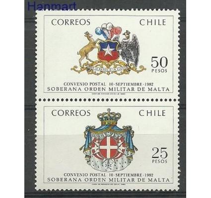 Znaczek Chile 1983 Mi 1005-1006 Czyste **