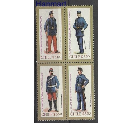 Znaczek Chile 1981 Mi 969-972 Czyste **
