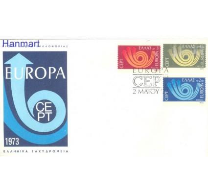 Znaczek Grecja 1973 Mi 1147-1149 FDC
