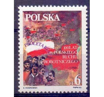 Znaczek Polska 1982 Mi 2821 Fi 2673 Czyste **