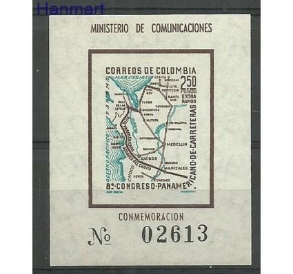 Znaczek Kolumbia 1960 Mi bl 18 Czyste **