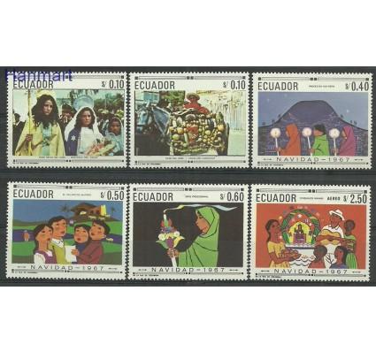 Znaczek Ekwador 1967 Mi 1392-1397 Czyste **