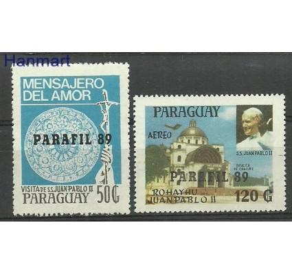 Znaczek Paragwaj 1989 Mi 4415-4416 Czyste **