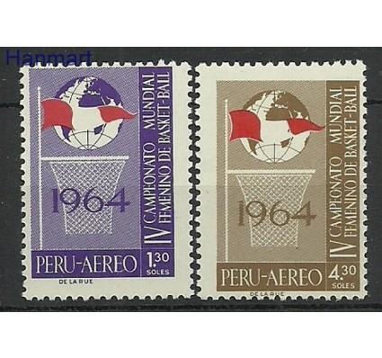 Znaczek Peru 1965 Mi 645-646 Czyste **
