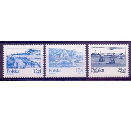 Znaczek Polska 1982 Mi 2833-2835 Fi 2685-2687 Czyste **