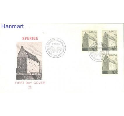 Znaczek Szwecja 1970 Mi 681 FDC