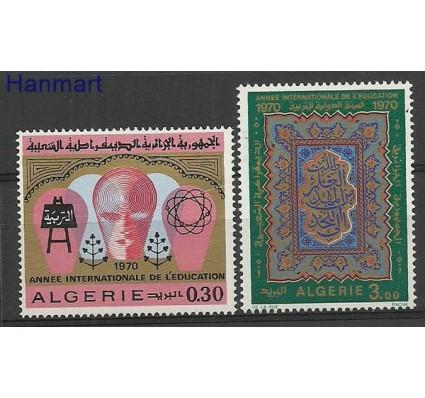 Znaczek Algieria 1970 Mi 559-560 Czyste **