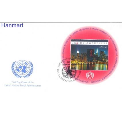 Znaczek Narody Zjednoczone Nowy Jork  Mi bl22 FDC