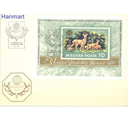 Znaczek Węgry 1971 Mi bl82 FDC