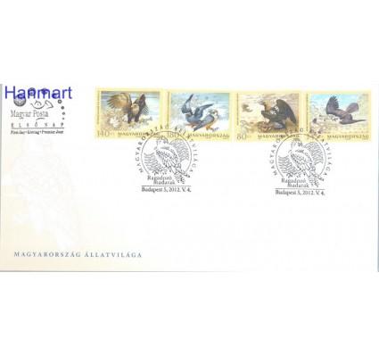 Znaczek Węgry 2012 Mi 5558-5561 FDC