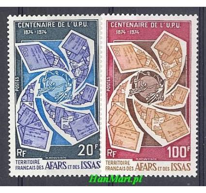 Znaczek Francuskie Terytorium Afarów i Issów 1974 Mi 106-107 Czyste **
