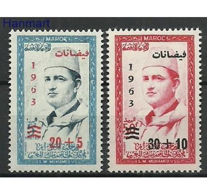 Znaczek Maroko 1963 Mi 511-512 Czyste **