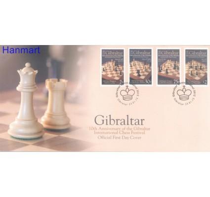 Znaczek Gibraltar 2008 Mi 1457-1460 FDC