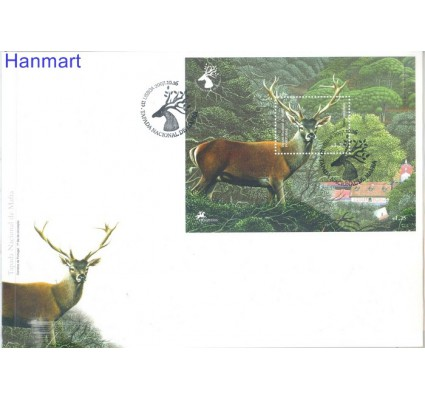 Znaczek Portugalia 2007 Mi bl262 FDC