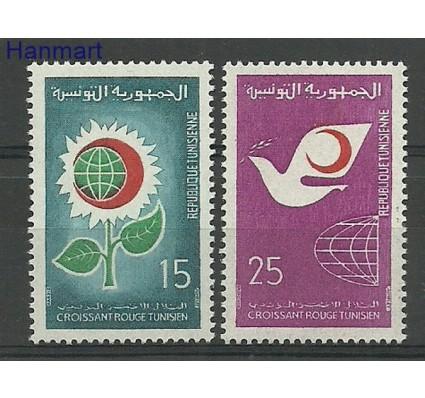 Znaczek Tunezja 1968 Mi 703-704 Czyste **