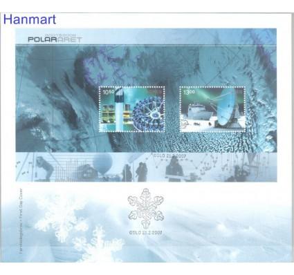 Znaczek Norwegia 2007 Mi bl34 FDC