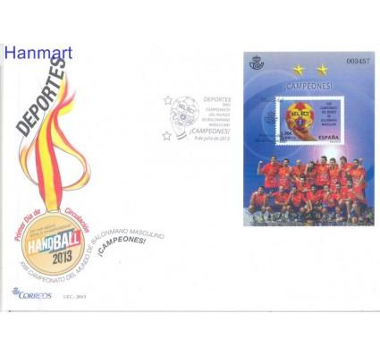 Znaczek Hiszpania 2013 Mi bl 239 FDC